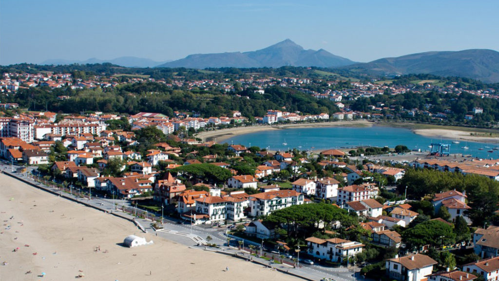 Hendaye in the Basque Country
