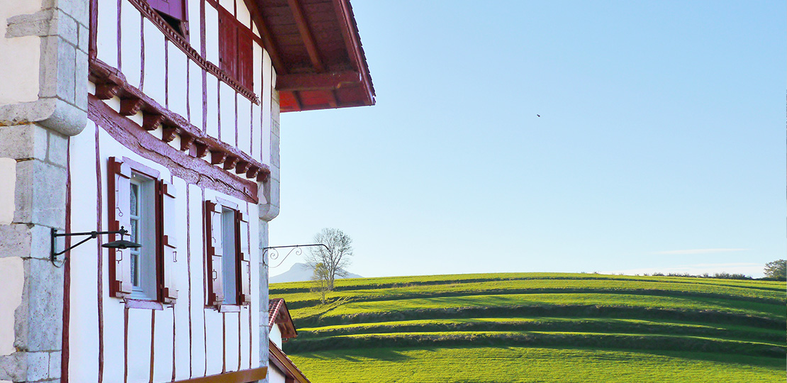 Typical Basque country house