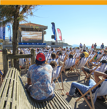 International surf festival in Anglet
