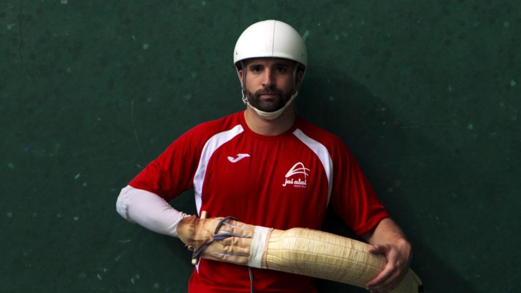 Player of Pelote Basque