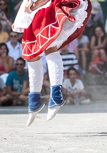 Traditional Basque dance