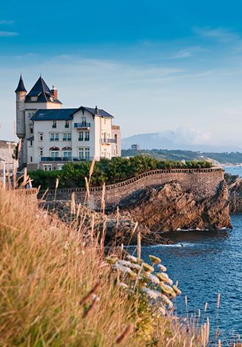 Biarritz background