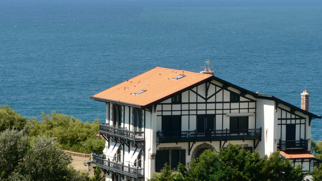 typical Basque house in Biarritz